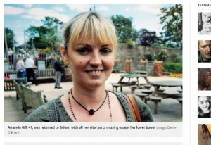 英女遊墨西哥猝逝… 遺體運回竟器官被挖光光