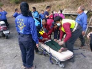 造橋77歲失蹤老婦找到了! 含露水、積水撐3天…