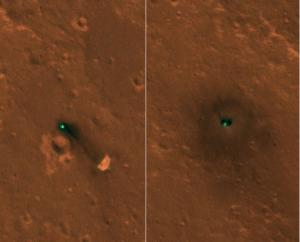 NASA太空船登陸「極樂世界」 空拍畫面今曝光