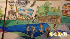 台南古都馬拉松 學童繪本帶頭跑進歷史