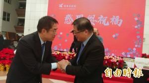「台南小內閣」告别感恩會 準市長黃偉哲接棒:誠惶誠恐