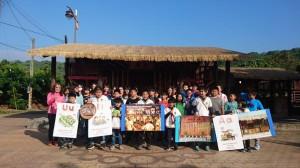 玉豐訪河東 兩國小學童牽手「西拉雅」