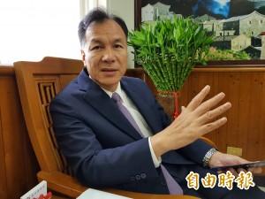 連江縣長劉增應連任 元旦訪中國行銷馬祖高粱酒