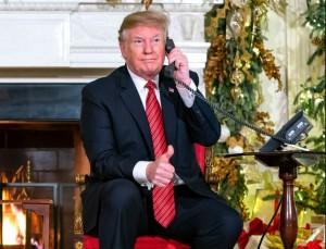 川普電話嗆7歲童「還相信耶誕老人?」 遭網友罵翻