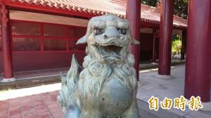 流浪到台南忠烈祠的狛犬「回家」? 南美館回應了