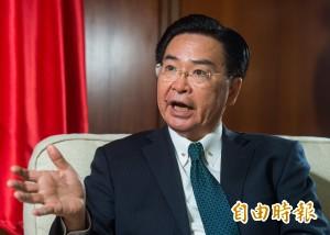 實質獨立!吳釗燮接受外媒專訪:台灣不受中國管轄
