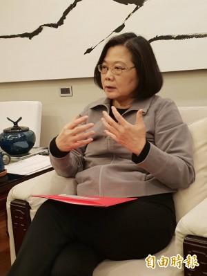 謠傳蘇貞昌組閣 蔡總統:我沒有提 哪來他的同意?