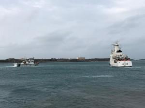 中國漁船假避風真越界捕魚 我連3天掃蕩水砲強勢驅離