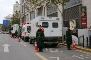 如臨大敵! 跨年夜上海外灘武警進駐 全是為了這件事