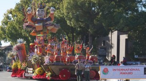 美國年度盛事玫瑰花車遊行 「台灣之聲」獲國際首獎