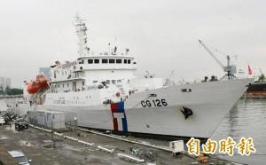 中國漁船又來了 海巡2000噸台南艦進駐澎湖