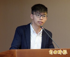黃之鋒以香港經驗提醒台灣人:與獨裁政權協商 過度樂觀