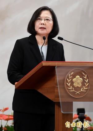 蔡英文再向中國喊話 點出3個台灣人拒「一國兩制」理由