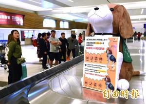違規攜帶豬肉製品入境重罰20萬 已有2名旅客繳罰鍰