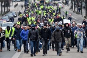 2019繼續抗議!法國今年第1場「黃背心」今日上街