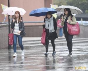 北台灣今氣溫略升 明日降雨轉明顯