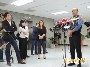 再護九二共識  韓國瑜:失去九二共識 兩岸互動將變成迷亂