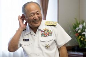 河野克俊:中國機艦繞台 日本非常關切