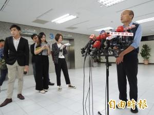 中油董事長拜訪韓國瑜 談賽馬只講歷史沒提合作
