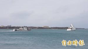 載10公斤豬肉侵門踏戶 澎湖海巡強制帶回越界中國船