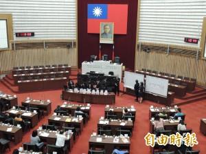 高市議會臨時會今開議 韓國瑜明天首度上場備詢