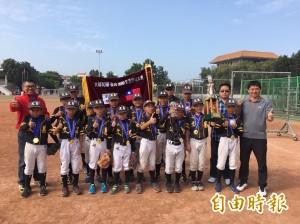 超級讚!台韓野球賽 文昌國小棒球奪冠