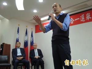 韓國瑜今晚夜宿兒童之家   發紅包說故事給孩子聽