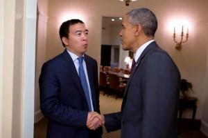 「以身為台裔美籍人為榮」楊安澤將投入美國總統選戰