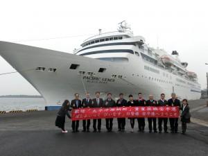 124萬觀光財飛了!日頂級遊輪停台南 近4百旅客不進高雄