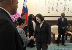 蔡英文:台灣不會放棄持續爭取國際空間 有能力為世界做更多貢獻