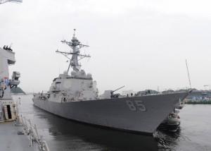 美國軍艦再航台海  去年7月至今第四度
