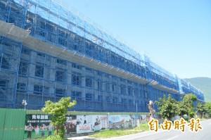 被喊卡的花蓮青年住宅復工了 縣府:7棟明年蓋完
