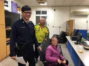 失智老婦、身心障男深夜迷路 都由警方伸援