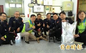 台南33隻波麗士犬 也有「年終獎金」!