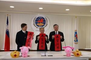 僑委會首開直播 向全球僑界「金豬報喜」