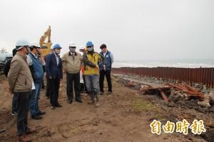 新豐「最毒海岸線」集塵灰爆量 政務委員吳澤成率隊現勘