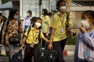 嚴重霾害侵襲 曼谷近450校「放假」2天