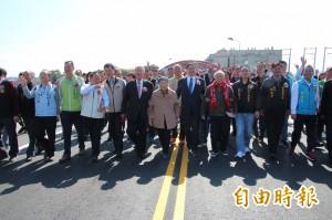 新豐王爺橋改建通車 變寬更耐震