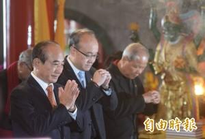 走訪中南部信心增 王金平:南一中再出一位總統會更好