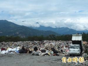 垃圾危機又來了!春節連假台東垃圾多兩成