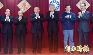 國民黨4太陽齊聚 總統初選時程隔空交鋒