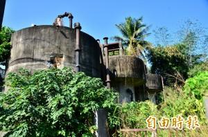 一甲子的自來水廠荒廢 地方爭取規劃為創生據點