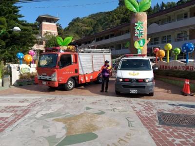 嘉縣試辦太平消防站 週末假日山區就近消防、救護、救災