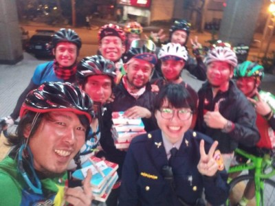 12名外籍騎士環島獲援助 返國致謝:感謝台灣熱心警察
