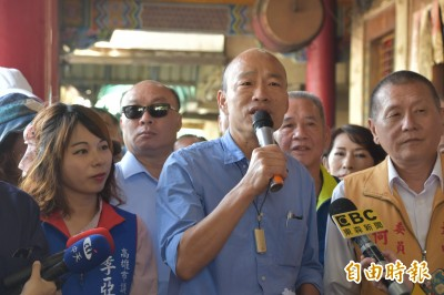 韓國瑜再喊讓九二共識走下去 網友轟:說不談政治還不閉嘴!