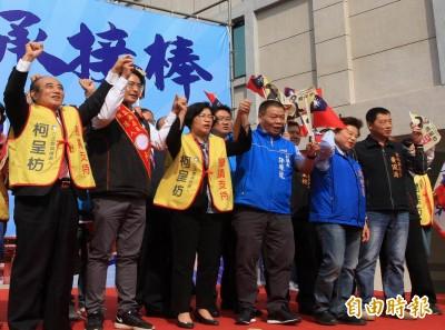 站台輔選反被問「藍皮綠骨」 王金平自創:「漢魂台魄」