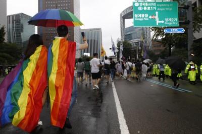 反同性戀首度跌破半數 南韓對性少數群體逐漸開放