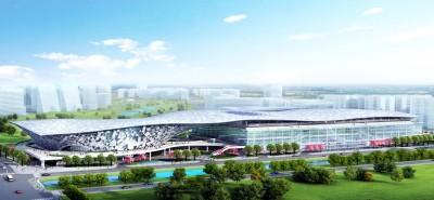 中市水湳國際會展中心啟動 盧秀燕:3月動工2022年完工