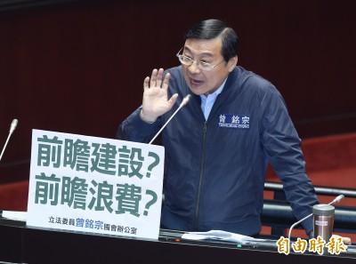 韓國瑜酒後嗆政院卡前瞻 網友驚:是國民黨自己人幹的