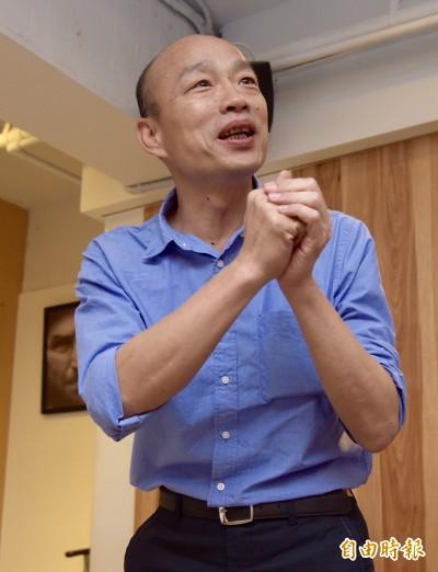 韓國瑜親中言論頻加碼 顏擇雅:中國怎還沒送來大禮?